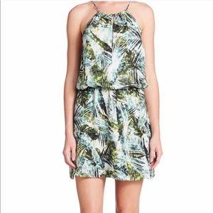 Parker Palm printed dress